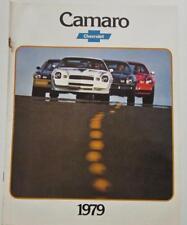 79 Chevrolet Camaro Original 1979 Sales Brochure Catalog Z28 Berlinetta Rally...