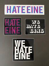Ben Eine 'Hate Eine' Stickers x 4