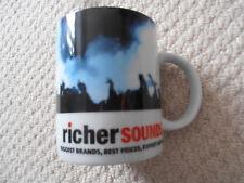 richer sounds - promo advertising mug - excellent condition - man cave DJ roadie