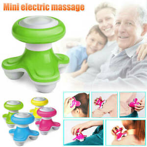 Mini USB Electric Handled Wave Vibrating Massager Full Body Massage, Mix Colors