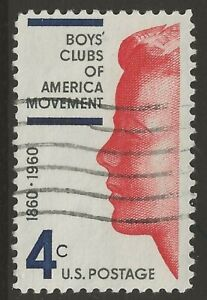 U.S. #1163 4¢ Boys' Clubs of America Vintage 1960 Commemorative Stamp UNH
