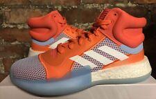 Adidas Azul/Coral marquesina Boost UK8.5 US9 EU42 2/3 Calzado De Baloncesto muestras