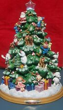 New Listing2005 Bradford Exchange Rudolph the Red-Nosed Reindeer Illuminated Tree w/Certifi