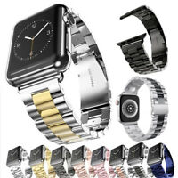 For Apple Watch iWatch 5/2/3/4 Stainless Band Bracelet Watch Strap 38/40/42/44mm