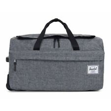 HERSCHEL SUPPLY CO 'Wheelie Outfitter' Grey Polyester Duffle Bag