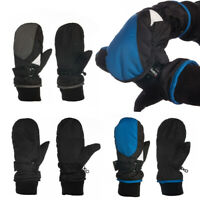 Statements 3M Thinsulate Boy's Cold Weather Winter Warm Fleece Lined Ski Mittens