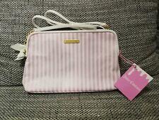 Juicy Couture - Handtasche Umhängetasche - Rosa Weiß - NEU und unbenutzt