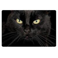 Anti-slip Black Cat Front Floor Funny Bedroom Doormat Carpet Rug Indoor Home Mat