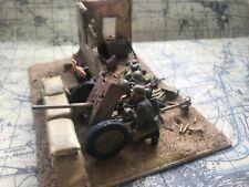 1/35 Segunda Guerra Mundial viñeta. Tamiya alemán anti Tanque pistola Construido y pintado