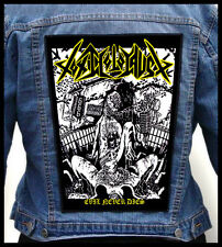 TOXIC HOLOCAUST - Evil Never Dies  --- Giant Backpatch Back Patch