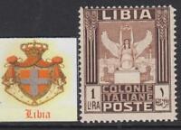 Italy Libia - Sassone n. 30  MNH** cv 540$