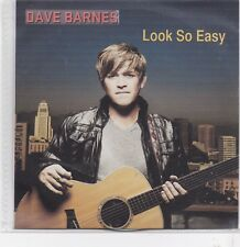 Dave Barnes-Look So Easy Promo cd single