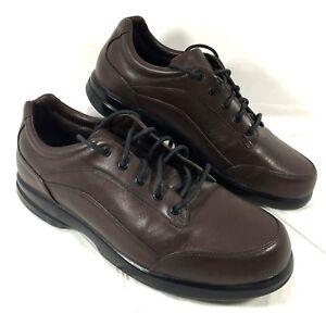 Men's EUC Brooks TURIN Motion Control Brown leather Sz 10 D