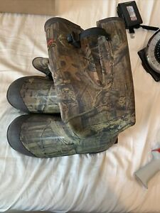 Cabela's 1200 Thinsulate Ultra Boots Size 11 Realtree Camo
