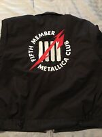 Metallica Dickies Fifth Member Club Jacket Size XLR Worn Only Once! Great Shape!