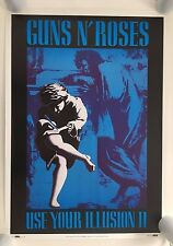 Guns N' Roses,Use Your Illussion Ii,Mega Rare Authentic,Licensed 1991 Poster