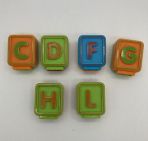 YOU CHOOSE Vtech Replacement Letter Blocks Sit To Stand Alphabet Train ONE BLOCK