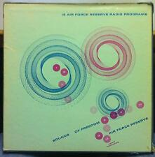 Air Force Reserve - Sounds Of Freedom 7 LP VG+ GXTV 80874/80886 Vinyl CBS Record