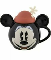 Disney Minnie Mouse Timeless Flower Hat Covered Ceramic Mug NEW