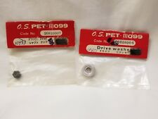 O.S. Engine PET-III 099 Drive Washer & Propeller Nut 20808006 & 20810007