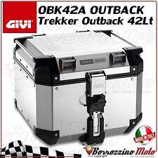 BAULETTO VALIGIA GIVI OBK42A IN ALLUMINIO MONOKEY 42 LT UNIVERSALE MOTO SCOOTER
