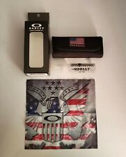 Oakley USA Flag Lens Cleaning Kit Accessories Cloth Cleaner NIB