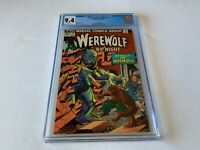 WEREWOLF BY NIGHT 17 CGC 9.4 WHITE PAGES THE BEHEMOTH MARVEL COMICS 1974