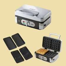 Domo 3in1 Waffeleisen/Sandwichtoaster/Grill - DO 9136 C - Kontaktgrill