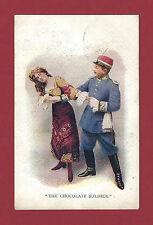 "Oscar Straus ""CHOCOLATE SOLDIER"" Philip Michael Fraraday 1912 Newcastle Postcard"