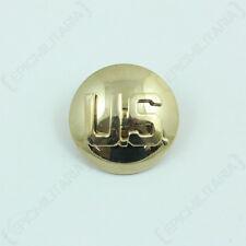 Single US Collar Disc - Faded Badge American Uniform Army Soldier Insignia USA