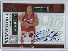 Blake Griffin 09/10 Playoff Contenders Autograph Rookie