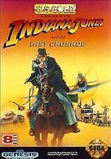 Indiana Jones and the Last Crusade (Sega Genesis 1992) Excellent Cond