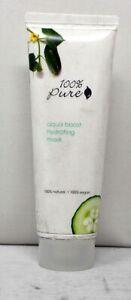 100% Pure Aqua Boost Hydrating Mask 3.4 Ounce