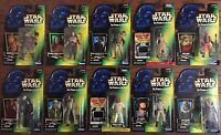 Star Wars Power Of The Force EP VI Figure Lot Hasbro Kenner '95-'99 RTJ MOC