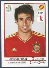 PANINI EURO 2012- #294-ESPANA-SPAIN-ATHLETIC BILBOA-JAVI MARTINEZ