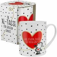Sheepworld XL Tasse 600 ml Jumbotasse Kaffeetasse Wie  schön ,dass es dich gibt
