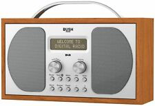 Bush DAB Bluetooth Stereo Wooden Radio Auto Scan 1507BT | 01789