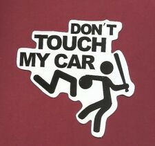 "Sticker Aufkleber Glanz-Optik ""Don't Touch My Car"" Stickerbomb, Car-Styling, ..."