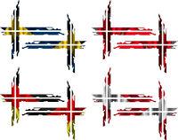 Schwedenkreuz Österreich Türkei Schweden Deutschland 1:14 1:16 Tamiya Wedico 076