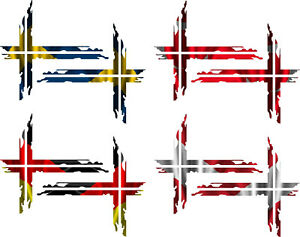 Schwedenkreuz Austria Turkey Sweden Germany 1:14 1:16 Tamiya Wedico 076