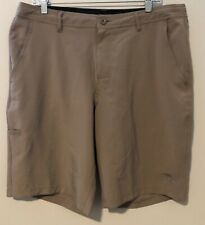 Da Hui Brown Shorts Men's Sz 36