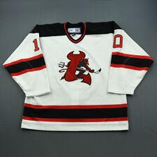 2006-07 Petr Vrana Lowell Devils Game Used Worn AHL Hockey Jersey! MeiGray!