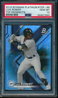 PSA 10 LUIS ROBERT 2019 Bowman's Platinum Top Prospects Rookie Card RC GEM MINT