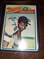 1977 Topps #427 Harvey Martin Dallas Cowboys good CONDITION