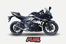 Suzuki GSX250R F1R Race Carbon GP Fuel Exhaust + Black Bracket + DB Killer