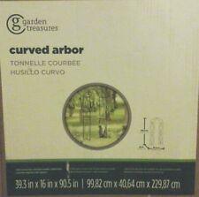 Garden Treasures Curved Arbor Model # 84320L