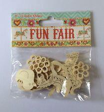 Fun Fair Wooden Elements by Helz Cuppleditch