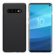 Phone Case For Samsung Galaxy S10 Nillkin Frosted Shield Black Back Hard Cover