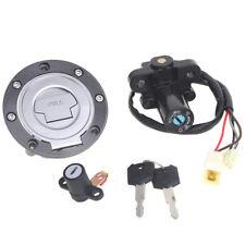 Ignition Switch Gas Cap Seat Lock Key Set for Yamaha MT03 06-12 YZF R6 99-05