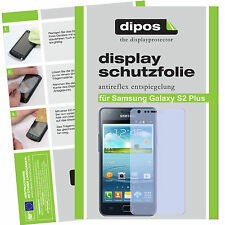 1x Samsung Galaxy S2 Plus screen protector protection guard anti glare